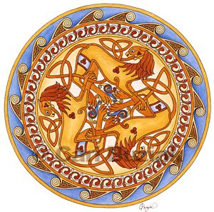 The Golden Lions of Lugh