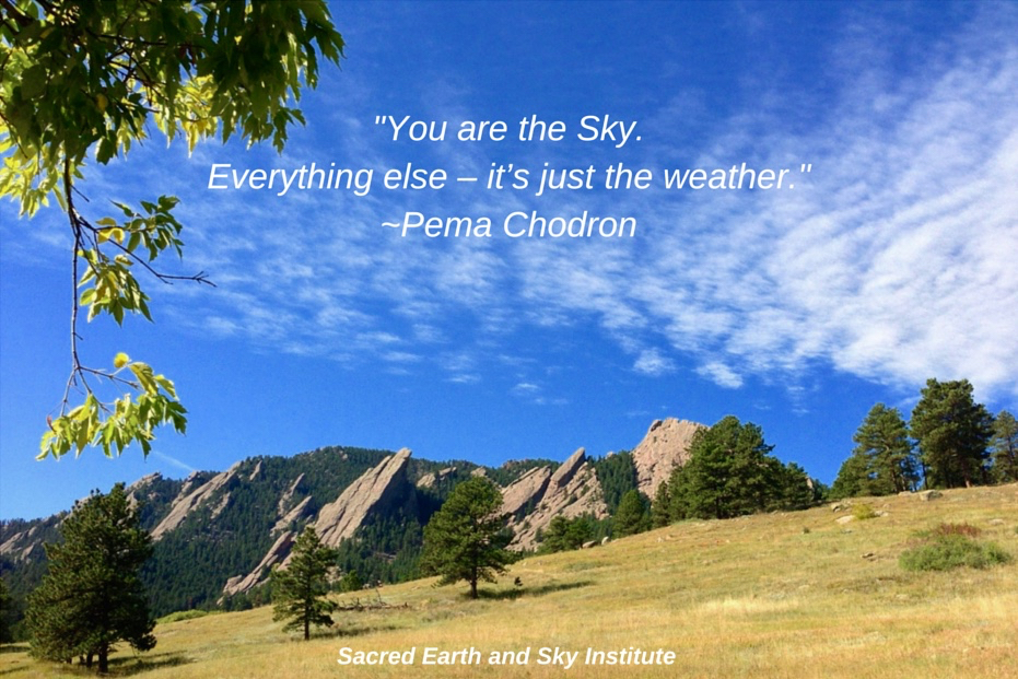 You are the Sky.