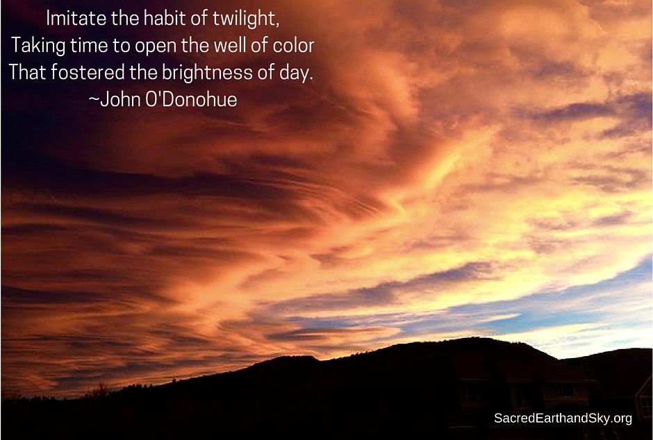 Imitate the Habit of Twilight