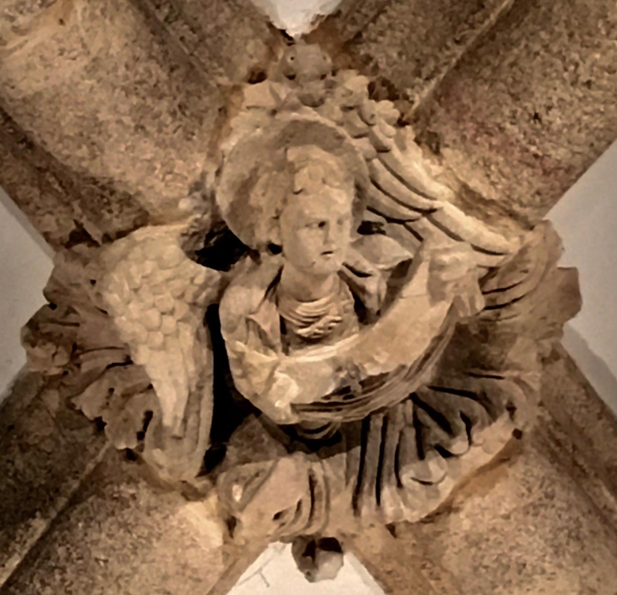 Santiago de Compostela Cathedral Ceiling