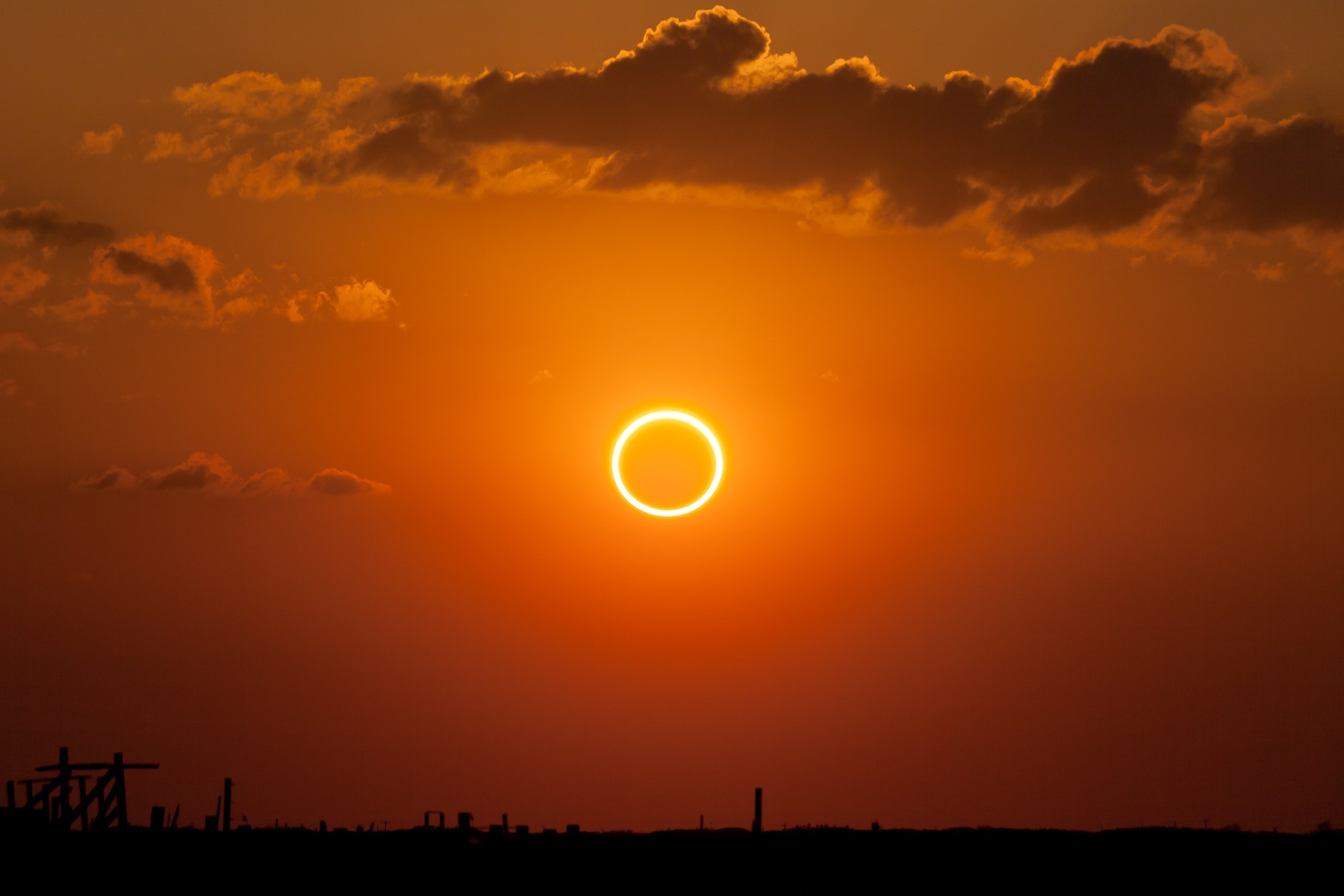 Ring of Fire - Annular Solar Eclipse